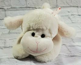 Hug & Luv Plush Lamb White 15 Inch 2012/2013 Kids Gift Toy Stuffed Animal - $16.62