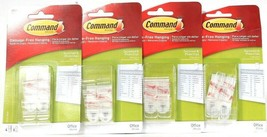 4 Packs Command Office Damage Free Hanging 4 Count Strong Document & Pho... - $20.99