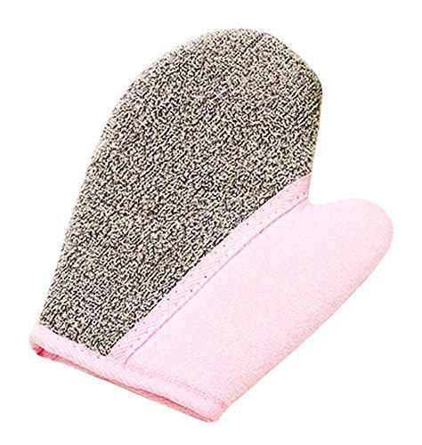 Cute Thicken Bath Accessory Foam Glove Bath Towel-Pink