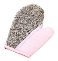 Cute Thicken Bath Accessory Foam Glove Bath Towel-Pink - $10.24