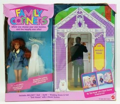 Family Corners Melody Doll And 4 Rooms Doll House Scenes No.12654 - $23.71