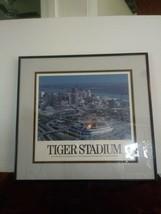 Vintage Detroit Tigers Tiger Stadium Framed Photo by Michael Gustafson 1... - $140.24