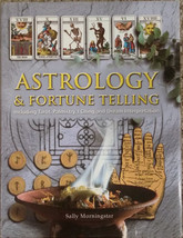 Astrology and Fortune Telling by Sally Morningstar Hardback Book w/ Dust... - $9.98