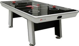 8' Hockey Table with LED Scoring Touchscreen Controls and 2 Ergonomic St... - $1,293.06