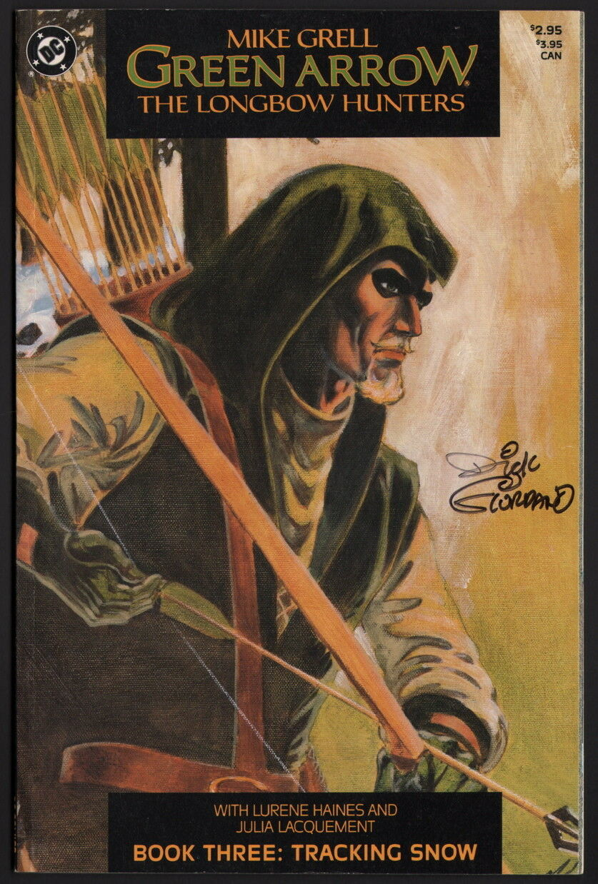 Primary image for Mike Grell Green Arrow The Longbow Hunters #3 SIGNED by Dick Giordano