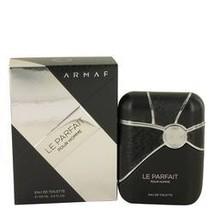 Armaf Le Parfait Cologne By Armaf 3.4 oz Eau De Toilette Spray For Men - $34.93