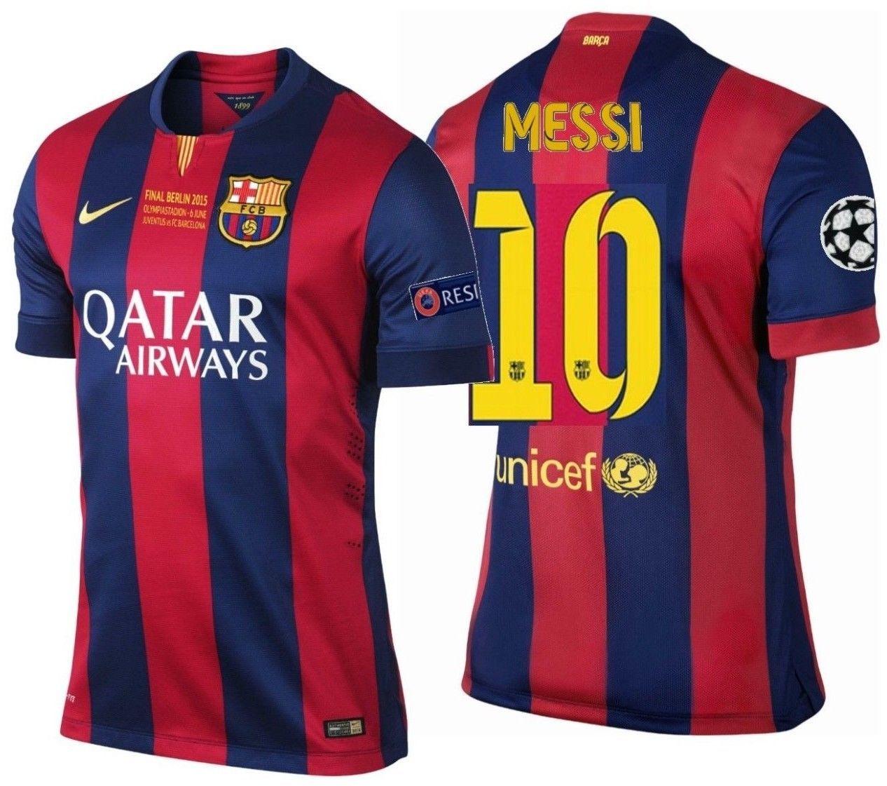 221682b9b2efec Nike Lionel Messi Fc Barcelona Final Uefa and 50 similar items