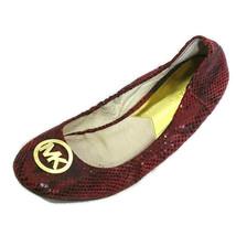 Michael Michael Kors Suede Leather Ballet Flats Round Toe Women Size 9 M... - $39.59
