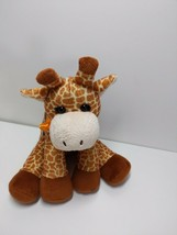 Poochie Co 10 Purse Plush Orange Sequin Giraffe Bag with Strap and pocket - $21.55