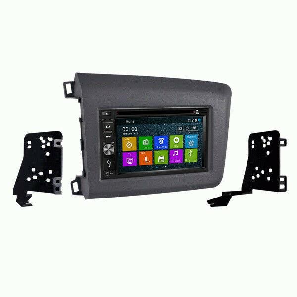 DVD GPS Navigation Bluetooth Radio and Dash Kit for 2012 Honda Civic