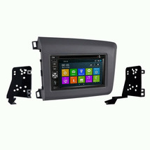 DVD GPS Navigation Bluetooth Radio and Dash Kit for 2012 Honda Civic - $296.88