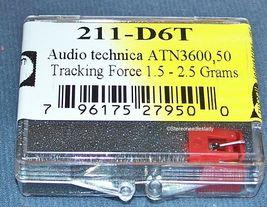 EVG PM2312D Audio Technica ATN3600 ATN3601 AT3600 211-D6T 4211-D6T needle stylus image 3