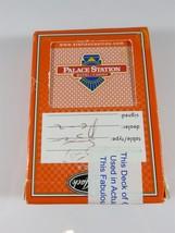 2007 Palace Station Cartamundi Black Jack Brand Casino Played Cards Seal... - $7.50