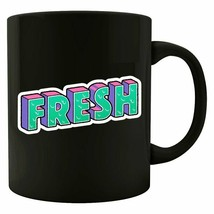 Fresh Coffee Tea Drink Mug Ceramic Funny Cute Cup 11OZ Gift  - $13.09