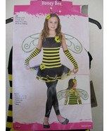 NWT! FUN WORLD Girls Medium 8-10 Honey Bee Halloween Costume - $14.84