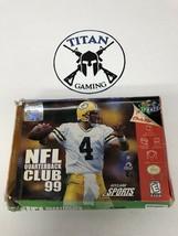 NFL Quarterback Club 99 (Nintendo 64, 1998) - $9.50