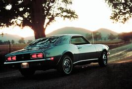 1968 Chevrolet Camaro at dusk 24 X 36 inch poster  - $18.99