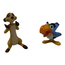 Lion King PVC Plastic Timon And Zazu Figures Figurines Toys - $6.79