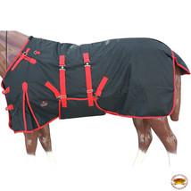 "84"" Hilason 1200D Waterproof Poly Turnout Horse Winter Belly Wrap Blanket U-R-84 - $84.99"