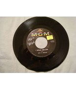 JAYE P. MORGAN I WALK THE LINE / WONDERING WHERE YOU ARE HEAR IT! MGM 45... - $2.84