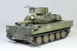 XM551 Sheridan Light Tank Prototype (Scratch upgrade) 1:35 Pro Built Model - $371.25