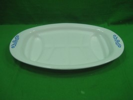 Vintage Corning Ware Blue Cornflower Platter P-49 Serving Platter Tray Dish  - $16.79