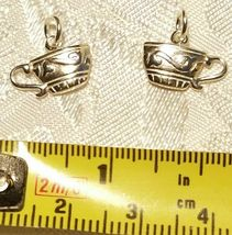 FOOD AND DRINK STERLING SILVER CHARM .925 - YOU CHOOSE image 3