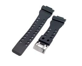 16mm Black Resin Watch Band Fits Casio G-Shock GA-110, GA-120, GA-300, G... - $8.99