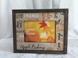 Thanksgiving Holiday Fall Decor Mantle Table Wall Frame Sign Plaque - $9.99