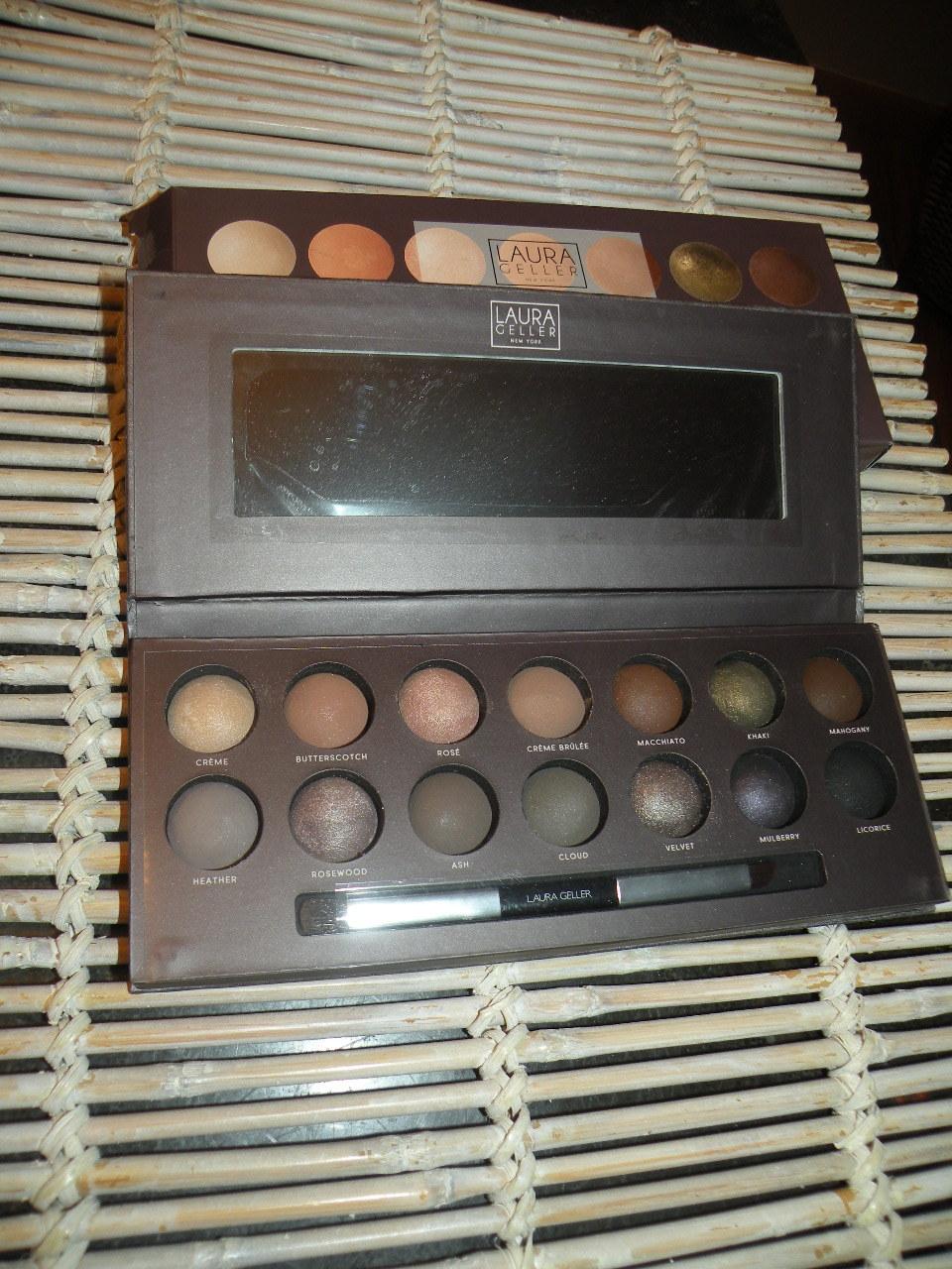 Laura Geller Eyeshadow Palette Smoky Neutrals The Delectibles
