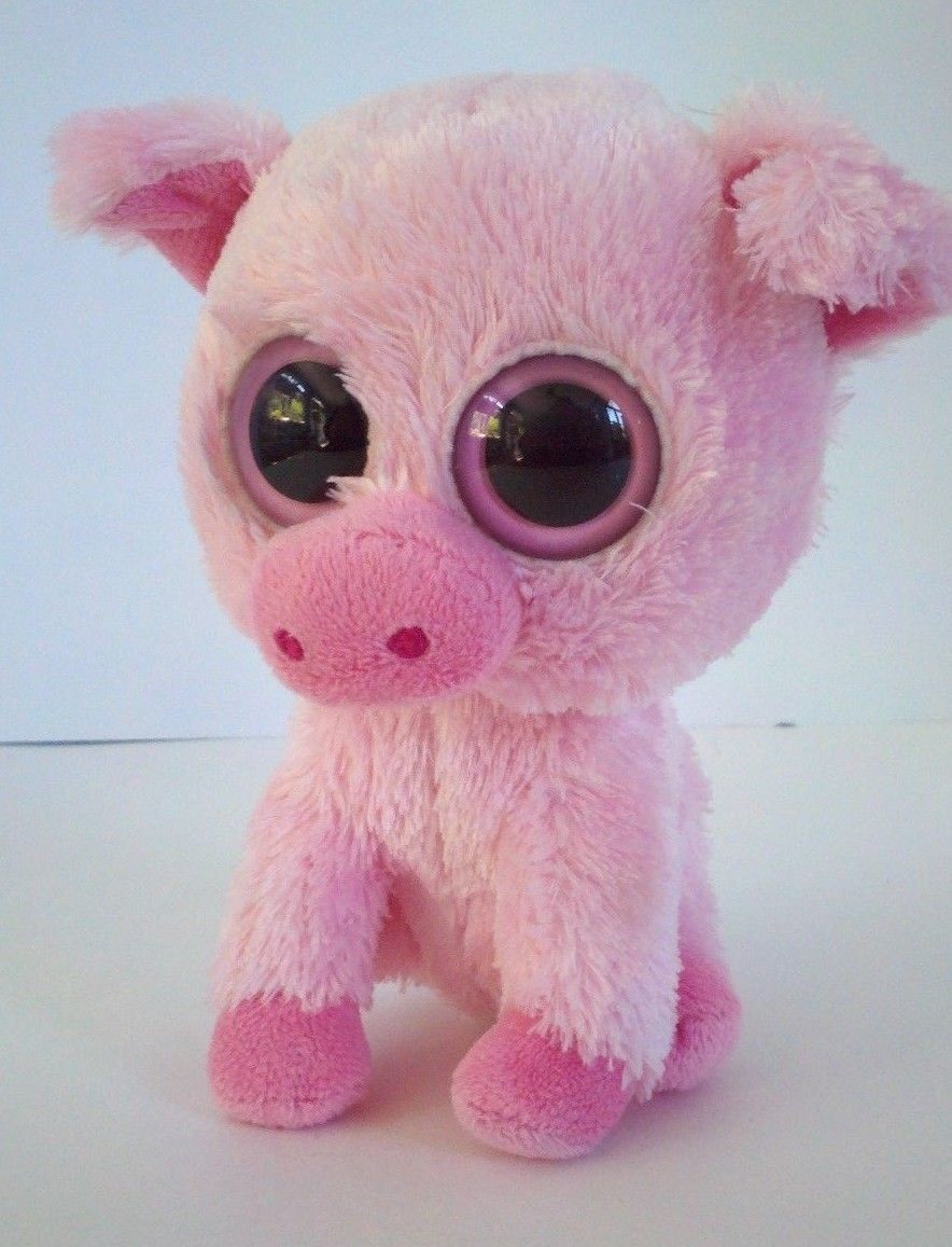 6279269a4e9 2011 Ty Beanie Baby Boos Corky Pink Pig Soft and 14 similar items. 57