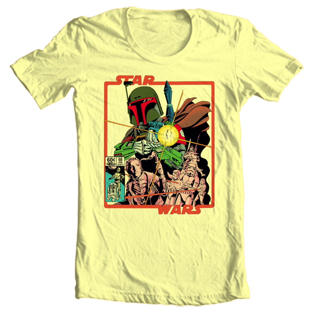 Oba fett luke skywalker pricess leia empire strikes back for sale online graphic tee shirt store