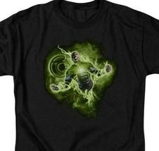 DC Comics Green Lantern Corps retro comics graphic black t-shirt GL315 image 2