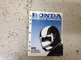 1988 VT800C Ombra Servizio Negozio Riparazione Officina Manuale Fabbrica... - $99.11
