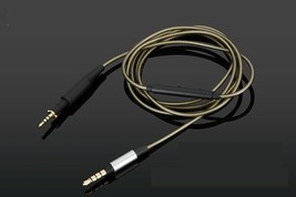 Silver Replacement Audio Cable With Mic For AKG K450 K451 Q460 K452 head... - $14.25