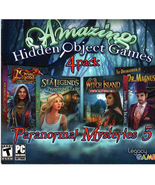 Amazing Hidden Object Games, 4 Pack, Paranormal Mysteries 5, PC DVD - $13.95