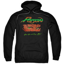 Authentic Poison Open Up and Say Ahh! Pullover Hoodie Sweatshirt S M L X... - $55.99+