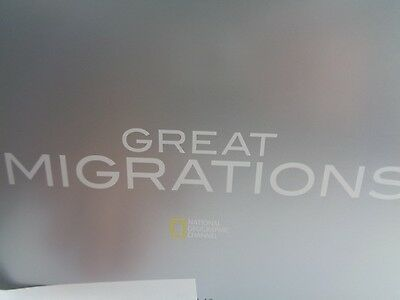 National Geographic Great Migrations Special Limited Collectors Book & DVD Set