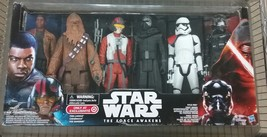 Star Wars The Force Awakens 12 inch 6 Pack Chewbaca Kylo Ren Poe Finn - $34.65