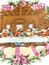 "Vintage Last Supper - Decorative Plate for Walls 7"" image 2"