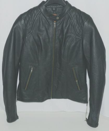 First Classics FIL102CSLZ Womans Leather Jacket Color Black Size Small