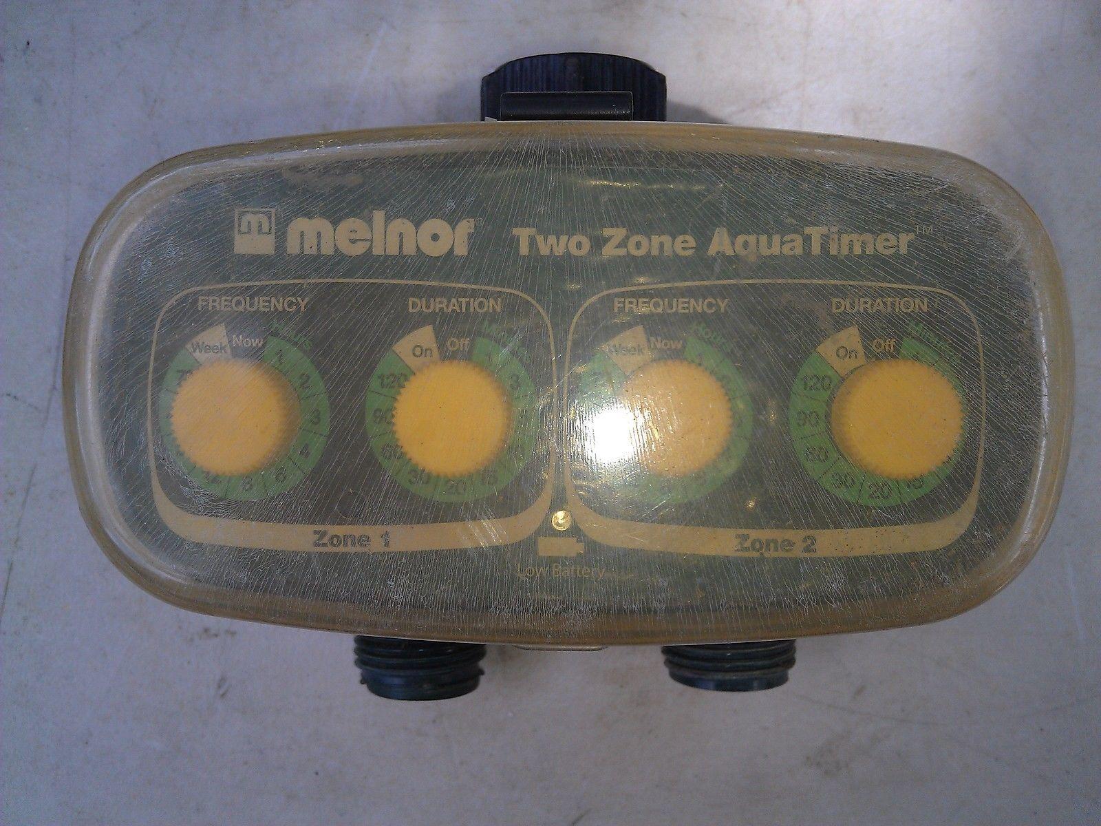 7tt48 Melnor Sprinkler Timer Untested No Warranty Return Parts Repair 8 68