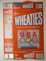 Mt Wheaties Cereal Box 1996 18oz Usa Olympic Team Collector's Edition [G7E1i] - $6.38