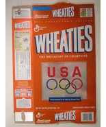 MT WHEATIES Cereal Box 1996 18oz USA OLYMPIC TEAM Collector's Edition [G... - $6.38