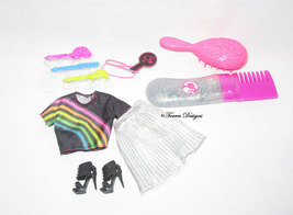 New Barbie Rainbow Sparkle Doll Outfit for Gift Play or OOAK - $9.99