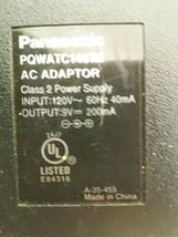 Panasonic PQWATC1461M AC Power Adapter Cord 9V 200mA - $7.67