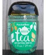 Green Tea Pocketbac Antibacterial Sanitizing Hand Gel Bath and Body Works - $5.00