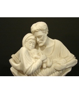 'A Quiet Moment' Stone Statue Figurine of The Holy Family by Timothy P S... - $75.00