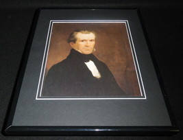 President James Polk Framed 11x14 Photo Display - $34.64