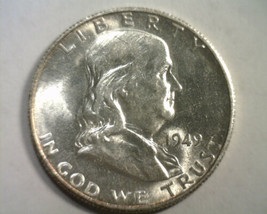 1949-S FRANKLIN HALF DOLLAR CHOICE ABOUT UNCIRCULATED++ CH. AU++ NICE OR... - $65.00